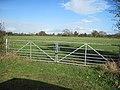 Gate into field at Millgate Farm - geograph.org.uk - 1566708.jpg