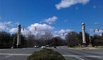 Rock Hill, South Carolina - Columns at the Gateway Intersection