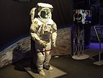 Gateway to space 2016, Budapest, the Space Shuttle space suit.jpg