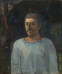 Gauguin - Auto-retrato (Perto do Gólgota).JPG