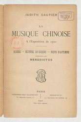 Les musiques bizarres de l'exposition de 1900