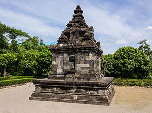 Gebang - Gebang temple viewed from southwest corner