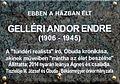 Gelléri Andor Endre plaque2 Bp03 Beszterce25.jpg