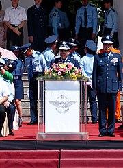 General Liu Zen-Wu, ROCAF Commander Speech in 2013 Opening Ceremony 20130601