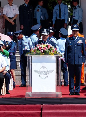 Republic of China Air Force - Former ROC Air Force Commander-General Liu Chen-wu