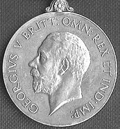 General Service Medal 1918 GV obv