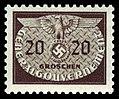Generalgouvernement 1940 D20 Dienstmarke.jpg