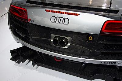 Geneva MotorShow 2013 - Audi R8 LMS ultra exhaust pipe.jpg