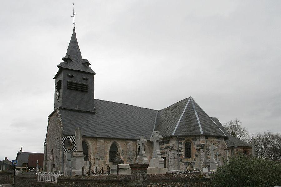 Église Saint-Ouen de Genneville.