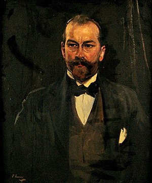 George Gavan Duffy - Portrait of George Gavan Duffy by Sir John Lavery RA (1856–1941)