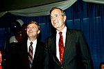 George H. W. Bush and Dan Quayle at the 1988 Republican National Convention.jpg