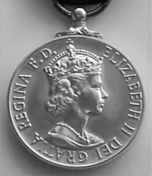 George Medal, Queen Elizabeth, second obverse