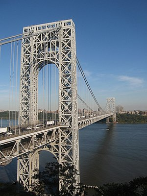 The George Washington Bridge over the Hudson R...