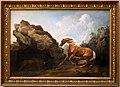 George stubbs, cavallo spaventato da un leone, ante 1763.jpg