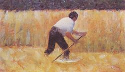 Georges Seurat: The Mower