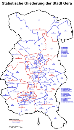Carte Allemagne Thuringe.Gera Wikipedia
