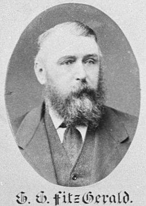 Gerard George Fitzgerald - Gerard George Fitzgerald in 1882
