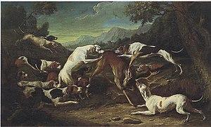 Gerard Rijsbrack - Deer hunt