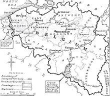German occupation of belgium during world war i wikipedia map of german occupied belgium gumiabroncs Choice Image