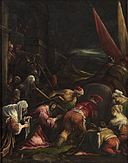 Gerolamo da Ponte - Christ Carrying the Cross meets with Veronica GG 1869.jpg