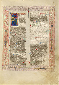 Getty Ms. Ludwig XV 13 01r - Fiore dei Liberi - Decorated Text Page - Google Art Project.jpg