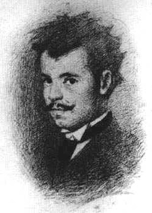 Giacomo Favretto - Self-Portrait (1874)