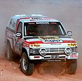 Gianni Lora Lamia Paris Sirte Le Cap 1992 Nissan Terrano T1 Agip Team Dessoude.jpg