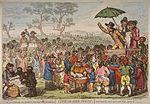 描繪法國大革命時期的政治漫畫