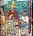 Giotto, bonifacio VIII proclama il giubileo del 1300, frammento 02.jpg