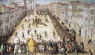 Calcio Fiorentino Early form of soccer and rugby