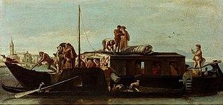 Venetian Post Boat
