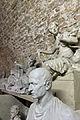 Gipsmodelle Wiener Historismus Hofburg-Keller 2015 Wappen und Wappenhalter Johannes Benk N BU 19 Cicero Karl Sterrer.jpg