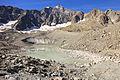 Gletsjermeer van Arsine (2460 m.) Écrins National park, France.JPG