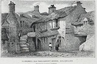 Glyndwr's old parliament house, Dolgelley