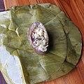 Gmelina arborea Laos gâteau de riz parfumé avec la fleur.jpg