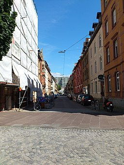 Goethestraße in Karlsruhe