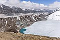 Gokyo village, lake, glacier and mountains.jpg