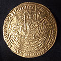 Gold commemorative coin King Edward III.jpg