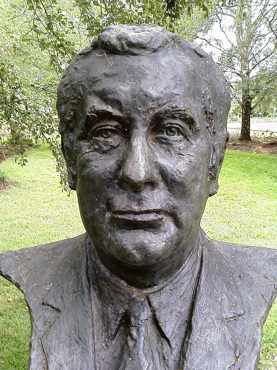 Gough Whitlam bust