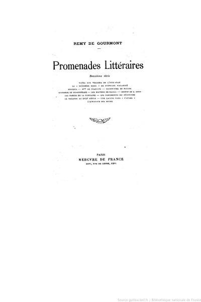 File:Gourmont - Promenades littéraires, sér2, 1913.djvu