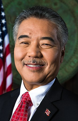 Governor of Hawaii - Image: Governor David Ige (cropped)