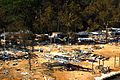 Governor Mark Warner visits Claremont after Hurricane Isabel's destruction, Sept. 24, 2003. Governor Mark R. Warner, Press Office records, 2001-2006 (bulk 2002-2006), accession 42460, Box 64 cd 2, (21887274485).jpg