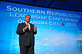 Governor of New Jersey Chris Christie at Southern Republican Leadership Conference (SRLC), Oklahoma City, OK May 2015 by Michael Vadon 132.jpg