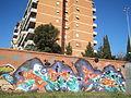 Graffiti nel quartiere Rebibbia 45.JPG