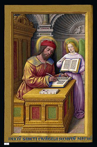 Four Evangelists - Saint Matthew