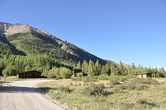 Winfield, Colorado - The remnants of the Winfield Mining Camp