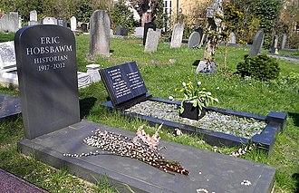 Eric Hobsbawm - Hobsbawm's grave in Highgate Cemetery