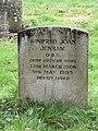 Gravestone in St Mary's Churchyard, Selmeston - geograph.org.uk - 1006197.jpg