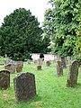 Gravestones, St Bartholomew's Churchyard - geograph.org.uk - 2018188.jpg