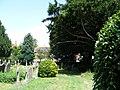 Gravestones at St. Nicholas Church Pevensey - geograph.org.uk - 1412740.jpg